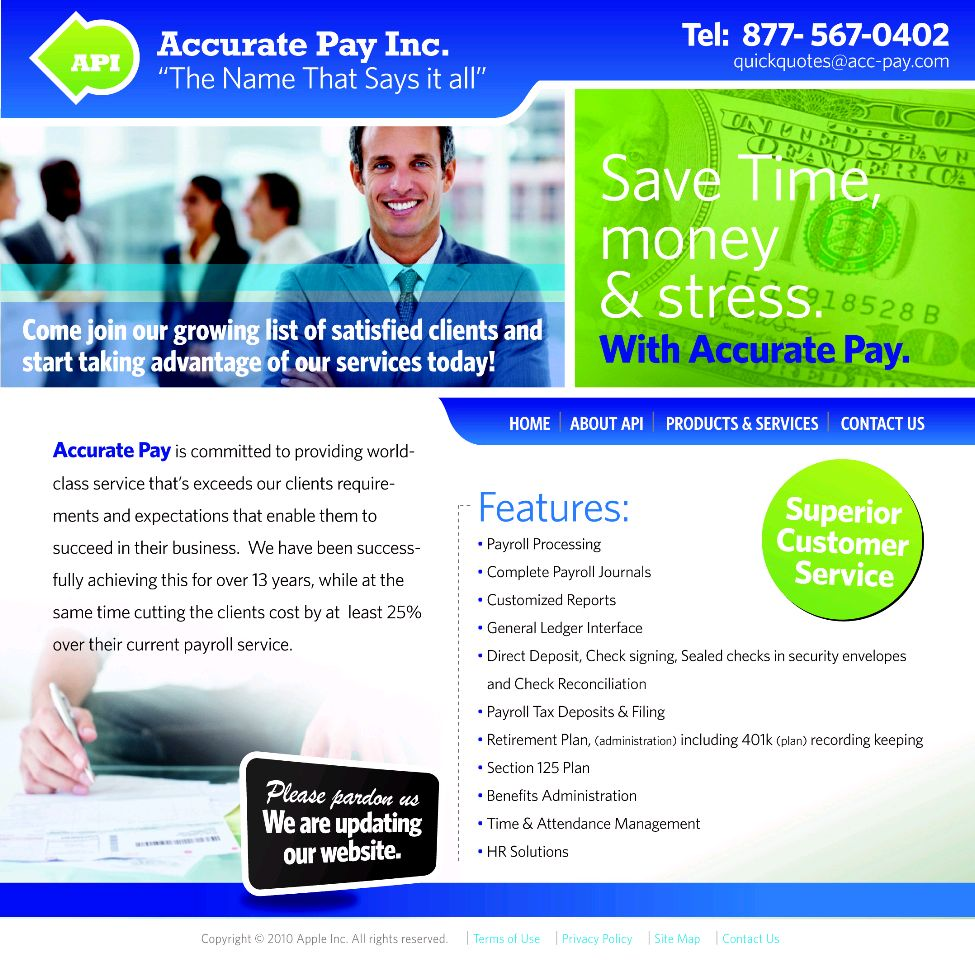 Accurate Pay, Inc. In Construction
